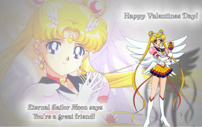 Sailor Moon Valentine For Cute-Winry by PharaohAtisLioness