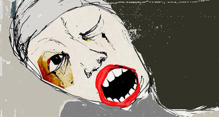 la realite humaine / son visage by laflaneuse