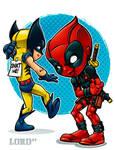 Lil Deadpool 'n' Logan