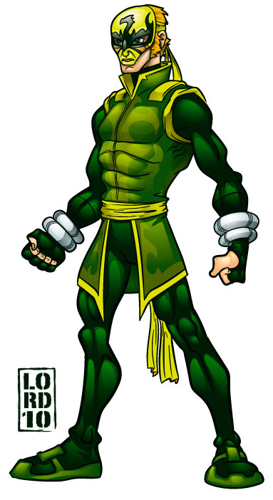 Ironfist Redesign Alt View by lordmesa