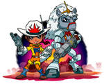 Lil Bravestarr and 30 30