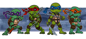 Heroes in a Half Shell by lordmesa