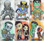 Marvel Beginnings Cards 1