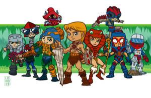 He-Man's Gang by lordmesa