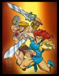 He-Man 'n' Lion-O 3D