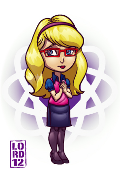 Big Bang Theory- Bernadette by lordmesa