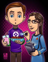 Playing Doctor...Star Trek Style by lordmesa