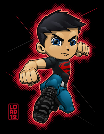 Young Justice- Superboy by lordmesa on DeviantArt Young Justice Superboy Wallpaper