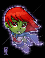 Young Justice- Ms. Martian by lordmesa
