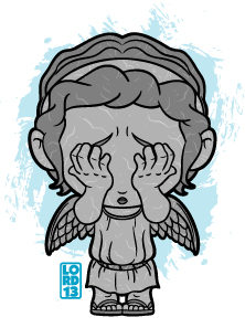 Don't Blink!!! by lordmesa