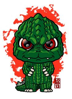 Godzilla!!! by lordmesa