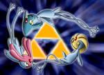 Pokemon Triforce by FireRai