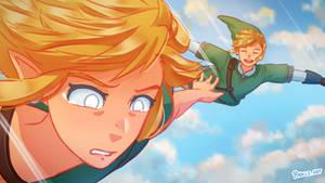 First Time? // The Legend of Zelda Fanart