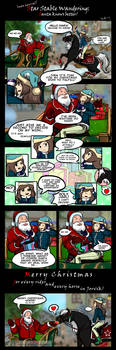 Santa knows better! - Star Stable Online Comics by Art-Trifle