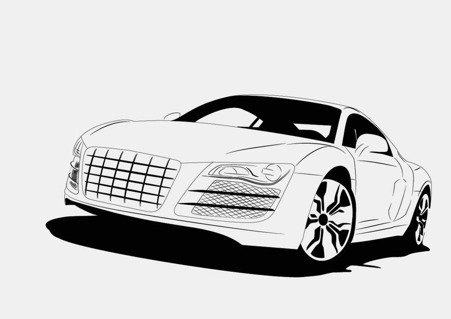 Audi R Vector By Rephl On DeviantArt - Audi car vector