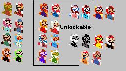 Other Retro Mario by Mighty-John