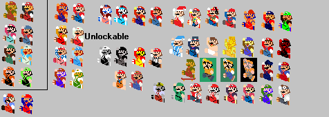 A Retro Mario that I put too much stuff into it. by Mighty-John