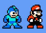 Mario - Mega Man style