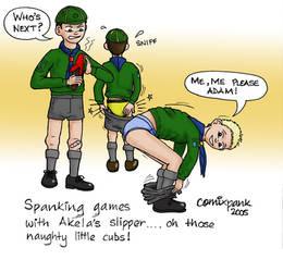 Naughty Cub Scouts Painful fun by cmxpnk