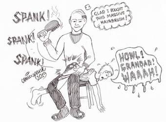 CMX Grandpa's Hairbrush Doodle 2019 by cmxpnk