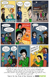 Webcomic Kickstarter Plea by CharlesPenn
