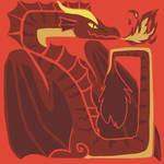Akulatraxas Monster Hunter inspired icon
