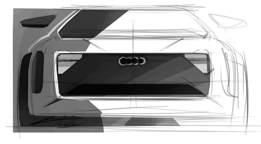 audi tablet by Chrupson