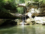 Arched Falls by OpalescentChild