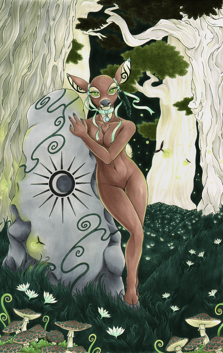 Heart of the Forest (Lorien077 Version) by Cervidian94