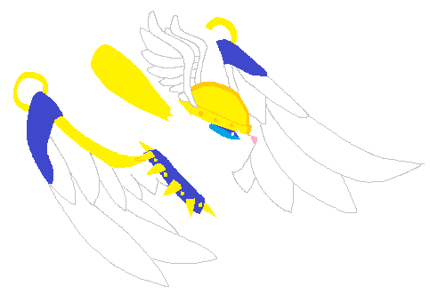 winged warrior by Suqardaddy