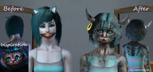 Cheshire Cat Custom Sim