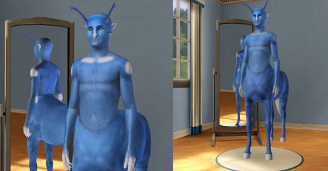Sims3 Animorphs Andalite by Popcornstar45