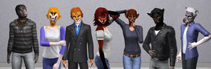 Sims3 Anthro Character Downloads
