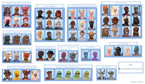 Sims3 Anthro Character Book