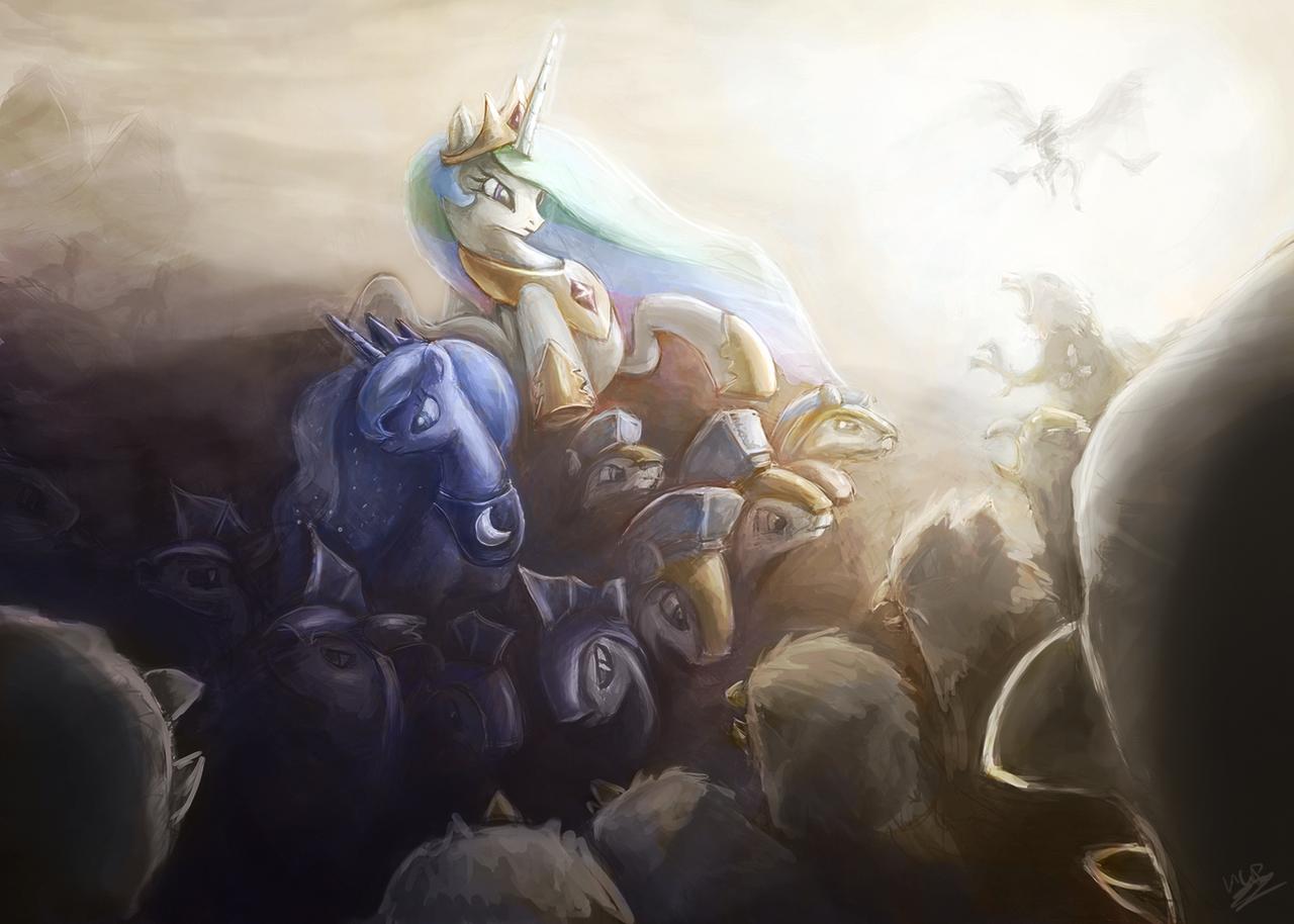 First Contact War, Griffons by AssasinMonkey