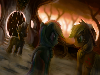 At Zecora's Glade - Part 2 by AssasinMonkey