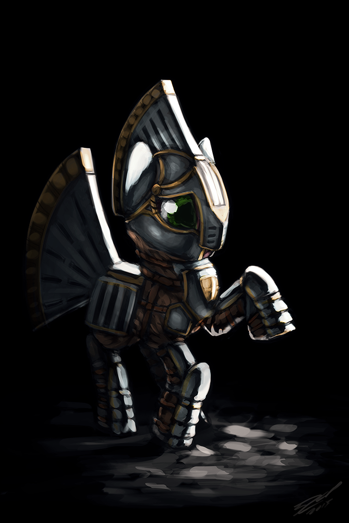 Silver Slice - Armoured by AssasinMonkey