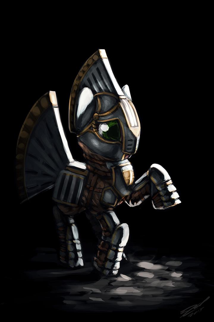 Silver Slice - Armoured by AssasinMonkey