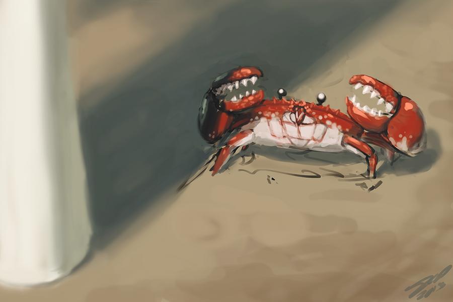 Crab Battle! by AssasinMonkey