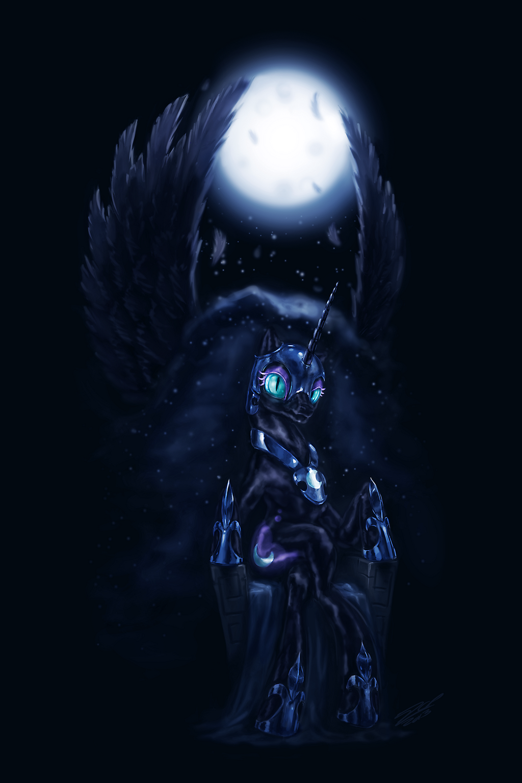 Seat of Darkness by AssasinMonkey