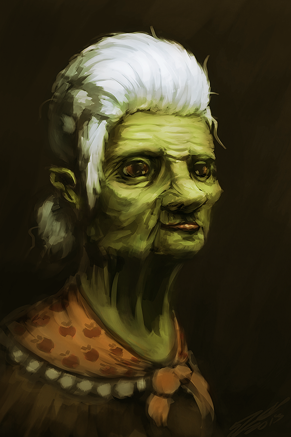 A Granny Smith by AssasinMonkey