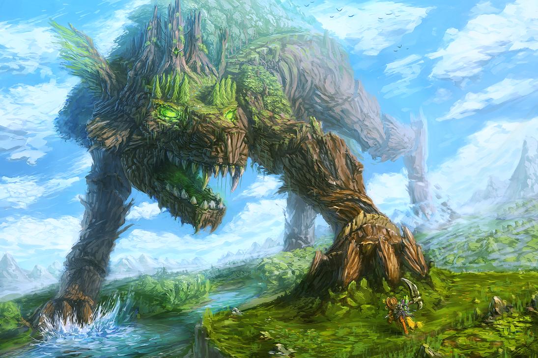 Timberwolf Emperor by AssasinMonkey