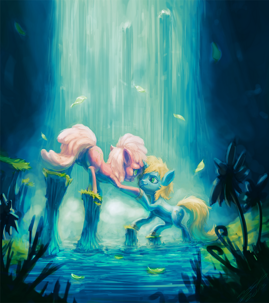 Our Secret Glade by AssasinMonkey
