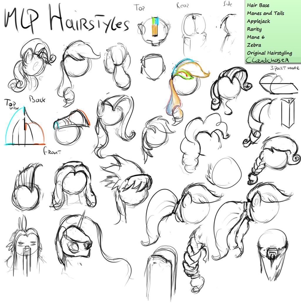 How To Draw My Little Pony Hairstyles Wwwgalleryhipcom