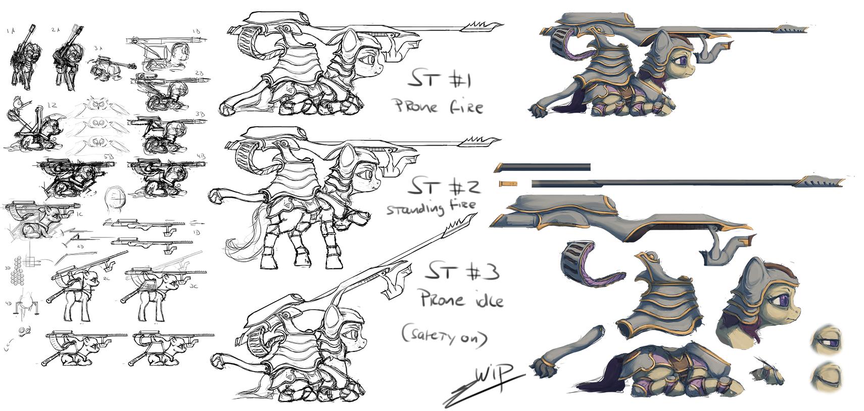 Earth Pony Sniper Dev. [WIP]