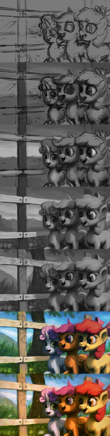 Hearty Fillies [WIP] by AssasinMonkey