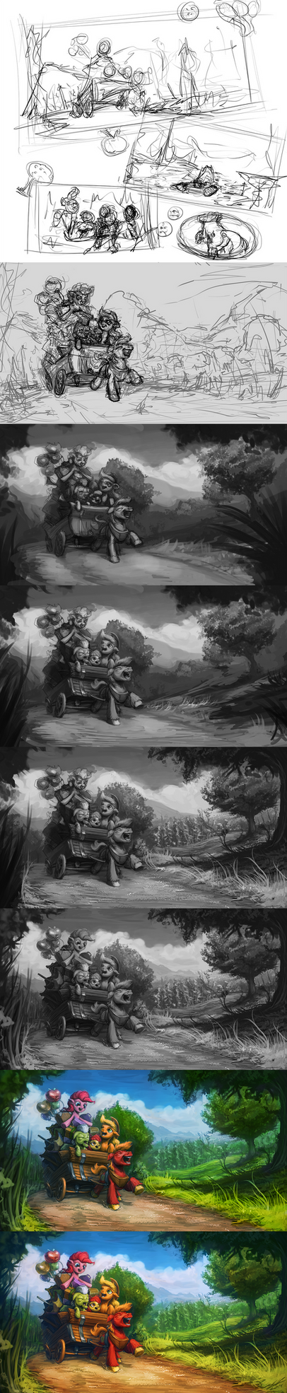 To the Apple Core [WIP] by AssasinMonkey