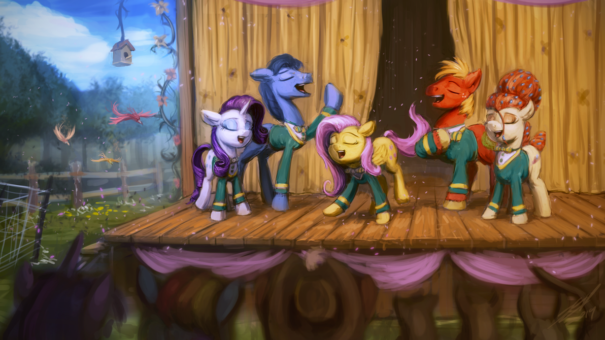 Tones of Ponies by AssasinMonkey