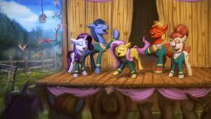 Tones of Ponies by AssasinMonkey