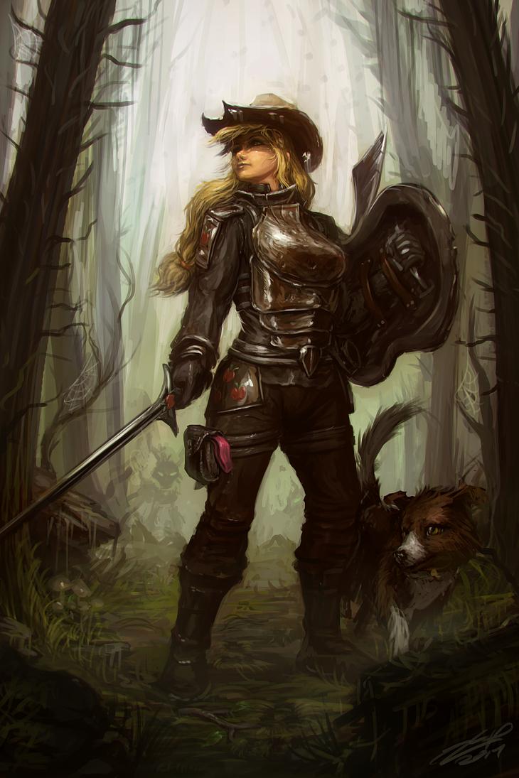 Everfree Hunt by AssasinMonkey
